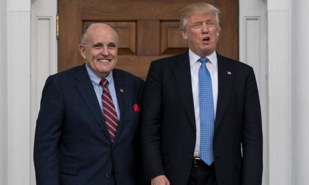 Giuliani states Trump Tower conference was to obtain Clinton dust