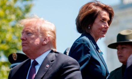 Donald Trump succumbs to Nancy Pelosi's catch