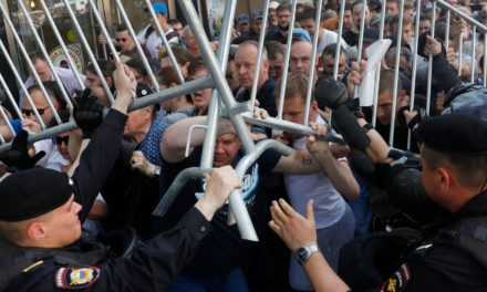 Russian Police Arrest More Than 1,000 Protesters In Moscow