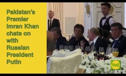 Imran Khan talks with Vladimir Putin as Modi checks out them grumpily – VoE