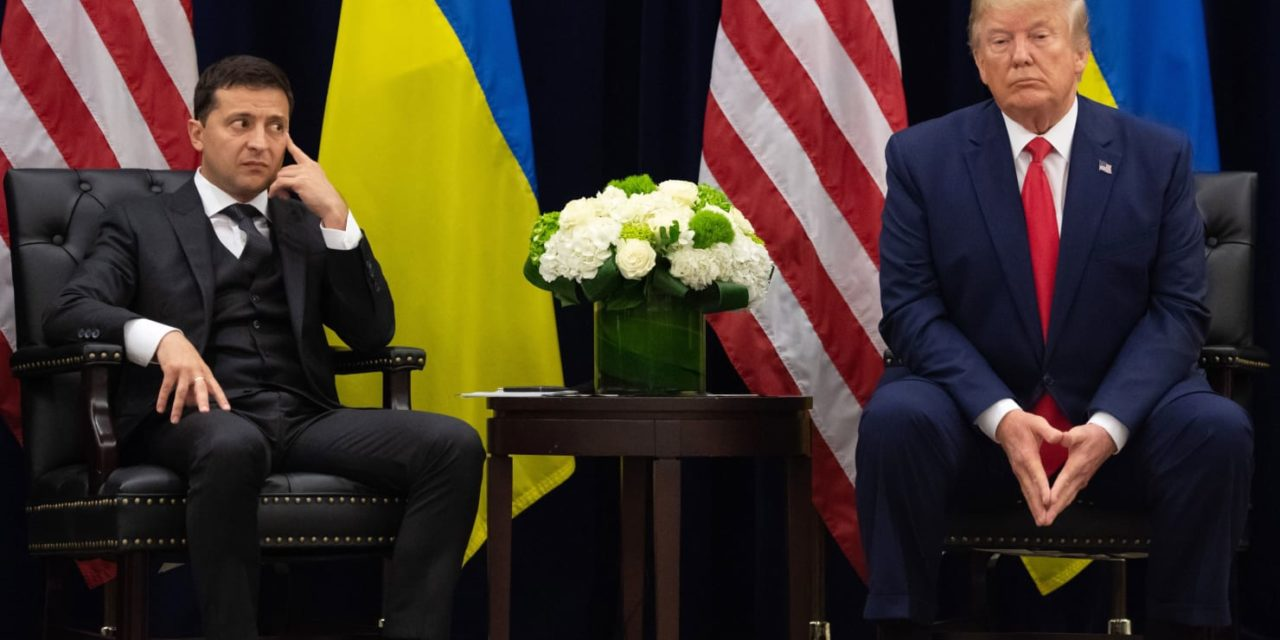 Trump Says He Hopes Zelensky as well as Putin Can Be BFFs