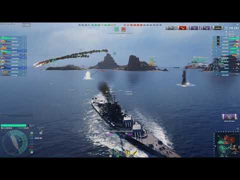 World Of Warships – Seasquirt's Kremlin Kraken.