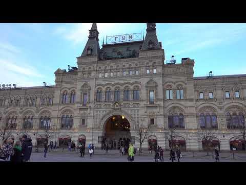 Moscow, Kremlin, Red Square oca, pe, paca oa 4K video clip