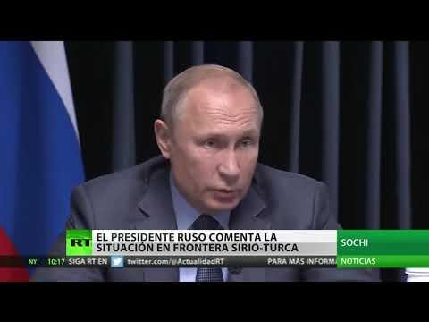 """Putin: """"""""Todaslas fuerzas desplegadas de forma ilegítima en Siria deben marcharse"""""""""""