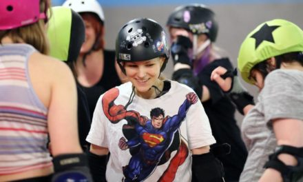 For Moscow's only roller derby squad, feminism is a contact sport