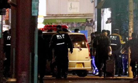Automobile hittings pedestrians on Tokyo roadway, hurts 8