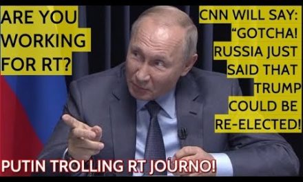 Putin: It ' s Because Of People Like You That Russia Will Be Accused Of Meddling In The United States Elections