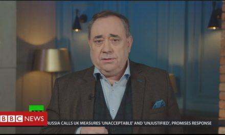 Salmond: Russian terminal 'not publicity'