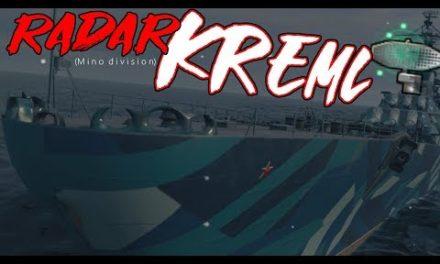 Kremlin with a Radar Minotaur – 8 Kills|||World of Warships