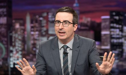 """John Oliver Says That Donald Trump Has More """"SexualChemistry"""" With Ivanka Than Jared Kushner"""