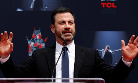 ABC's Jimmy Kimmel says alter would like I chimp along these lines president a cut above Trump
