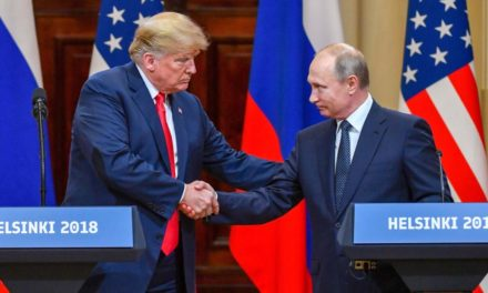 Trump all of a sudden claims he's 'extremely worried' regarding 2018 Russian disturbance