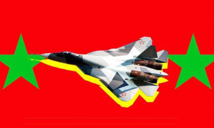 Russias Experimental Arsenal Takes to Syrias Sky