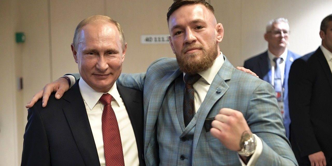 Conor McGregor's appreciation of Vladimir Putin attracts examination