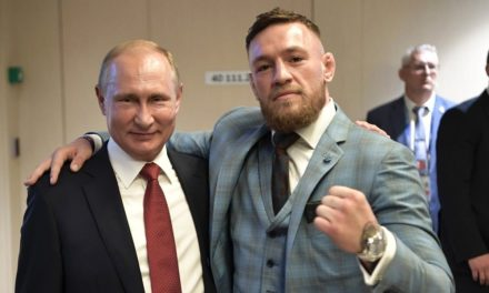 Conor McGregor's appreciation of Vladimir Putin attracts examination