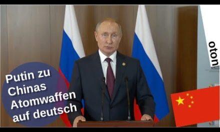 Putin zu Chinas Atomwaffen auf deutsch