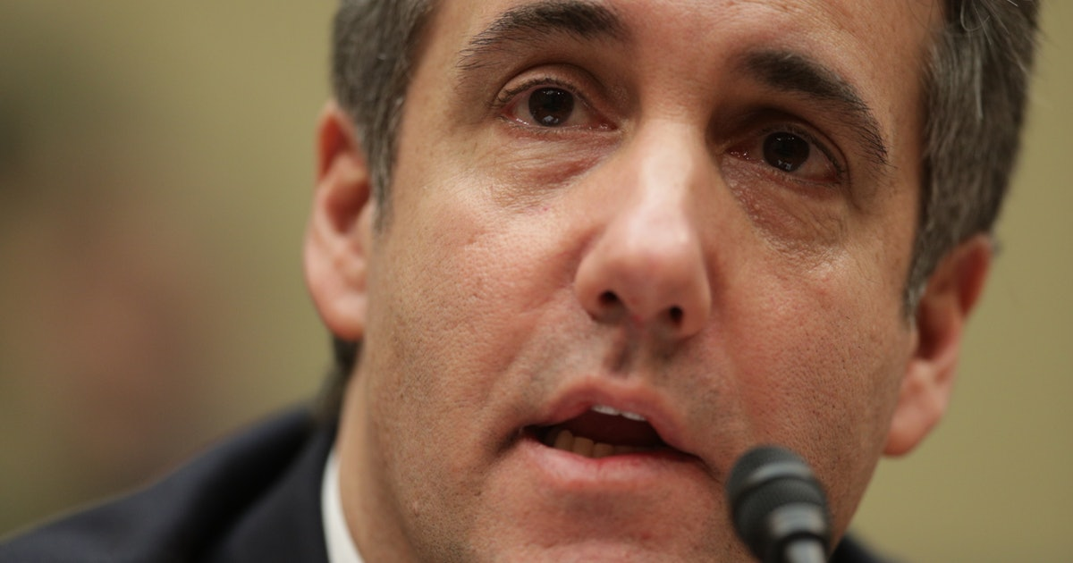 """Michael Cohen Was """"Prepared"""" For His Congressional Hearing, A Body Language Expert Says"""