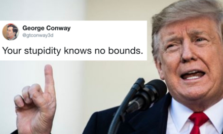 George Conway To Trump: 'YourStupidity Knows No Bounds'