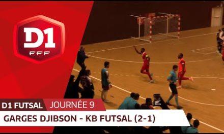 J9: Garges Djibson Futsal – Kremlin Bic être Futsal (2-1)