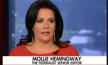 'Bingo'! Mollie Hemingway lanterns MSM for quickly being caused by 'treason' complaints
