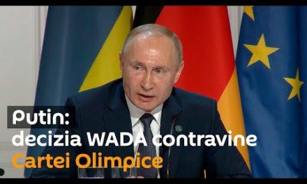 Putin: decizia WADA contravine Cartei Olimpice