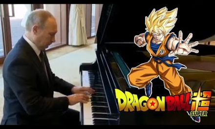 Putin plays Dragon Ball Songs!
