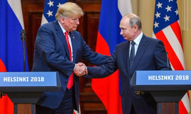 Does Russia have Kompromat on Trump? Here's Putin's odd solution