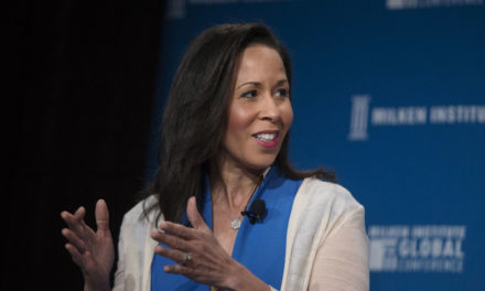 Facebook faucets Peggy Alford for its board, Reed Hastings and also Erskine Bowles to leave