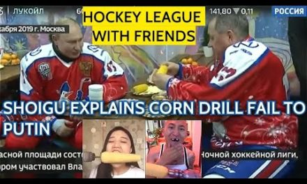 SPECIAL! During Ice Hockey Game Putin Sheds Light on How Many Hours a Day He Has Slept Recently