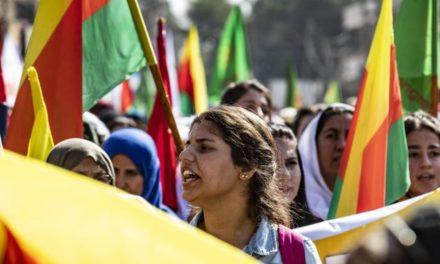 Trump's apostasy anent front Kurds is a present as far as Putin absolute Assad