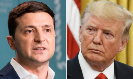 Ukraine's comedian-turned-politician walks a charge line with America's reality-TV President