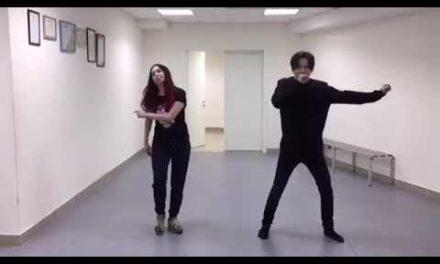 Dimash methods dancing for 2019 Kremlin performance |Giveme your love