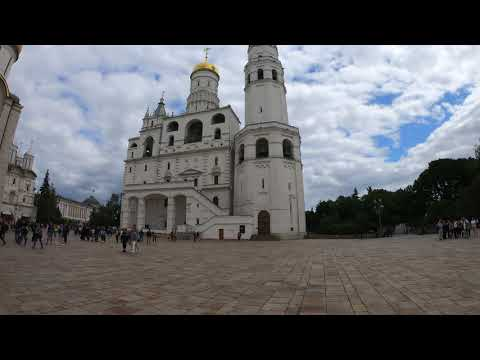 inside Kremlin, Moscow, Russia