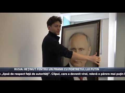 Rusia: Reținut pentru un antic cu portretul lui Putin
