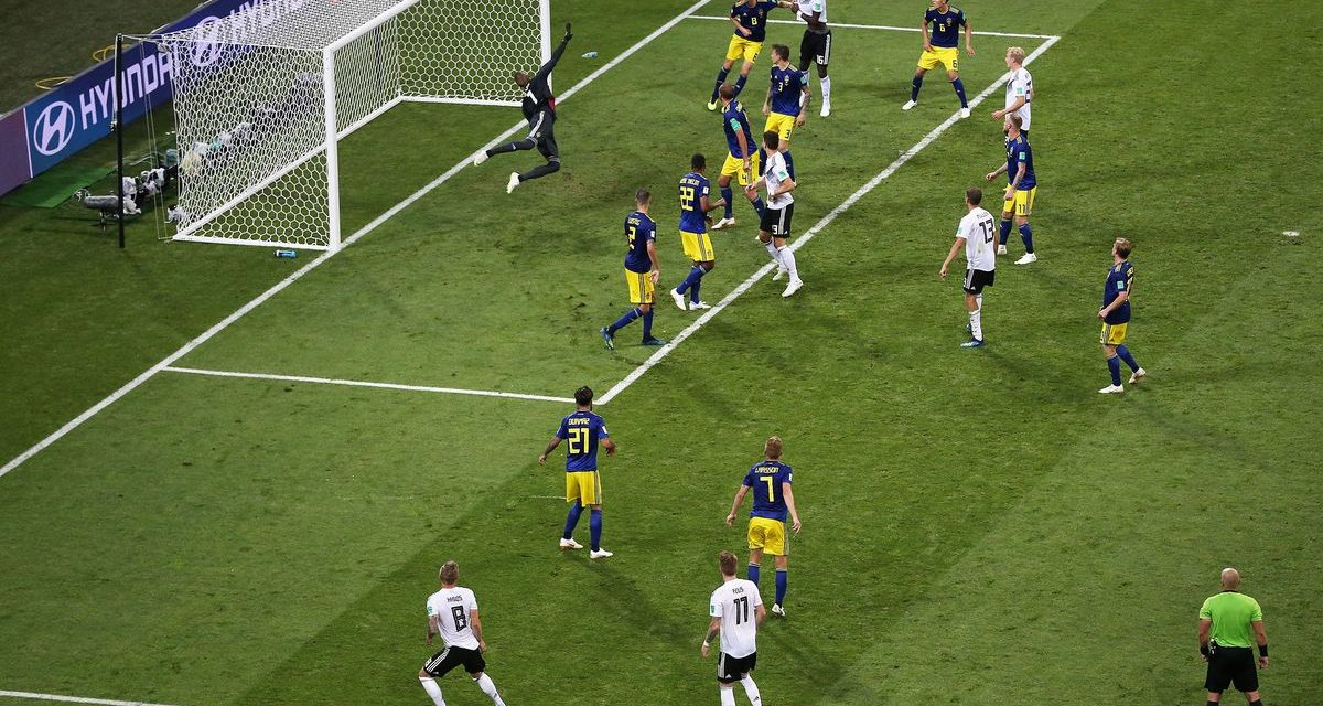 World Cup Latest: Germany Beats Sweden 2-1 With Extra-TimeGoal