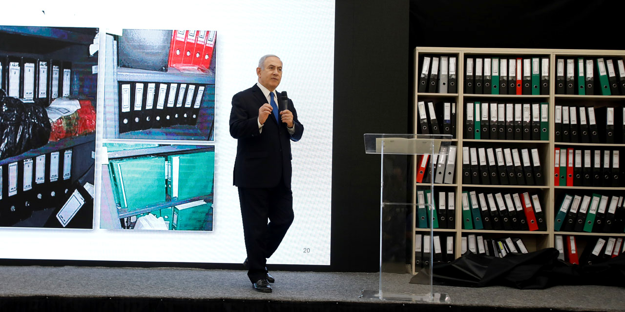 Netanyahu claims Iran 'brazenly existing' after authorizing nuclear deal, relocated files to a secret area