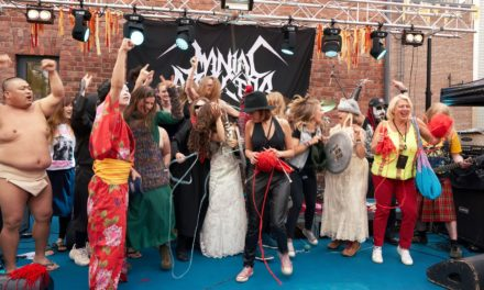 Finland's Heavy Metal Knitting Championship Is The Real Purl Jam