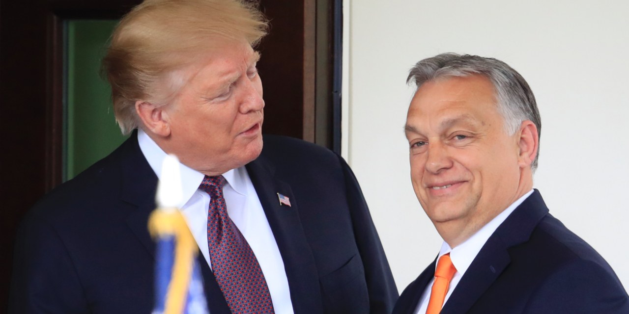 Trump fulfills Hungary's reactionary head of state