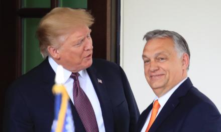 Trump fulfills Hungary's reactionary head of state