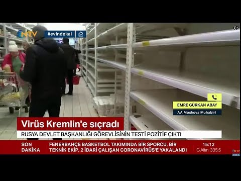 Son Dakika: Rusya ' da korona Kremlin ' de … Kıtlık kapıda
