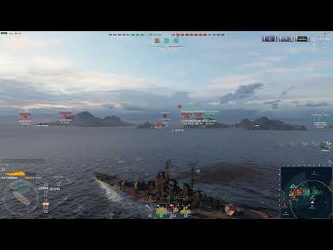 World Of Warships Kremlin 267 Okay DMG